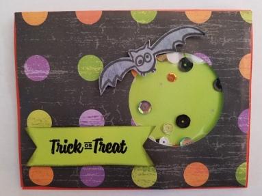 Halloween Shaker Card 1